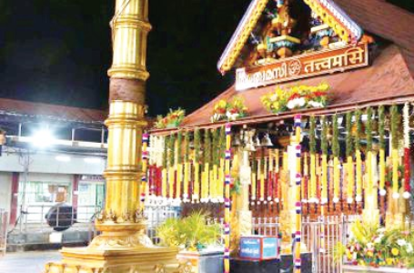 Sabarimala temple's profits crosses a hundred crore in 30 days