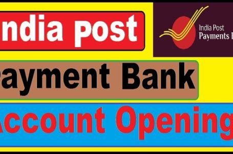Ndia Post Payments Bank savings account linking