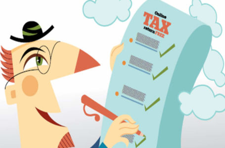 Tax outgo while filing profits tax returns