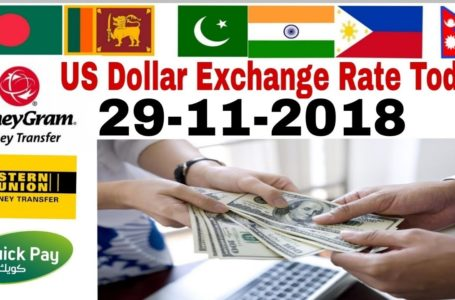 Today Currency Rate In Pakistan